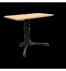 Ensøjlet skrivebord